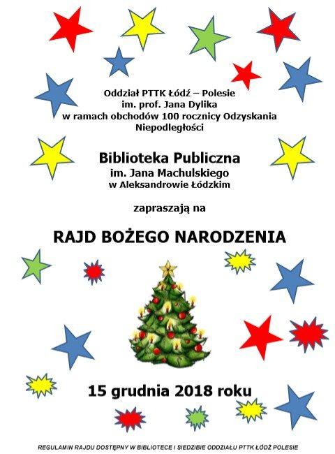 """Rajd """"Bożego Narodzenia"""" - 15 grudnia 2018 1"""