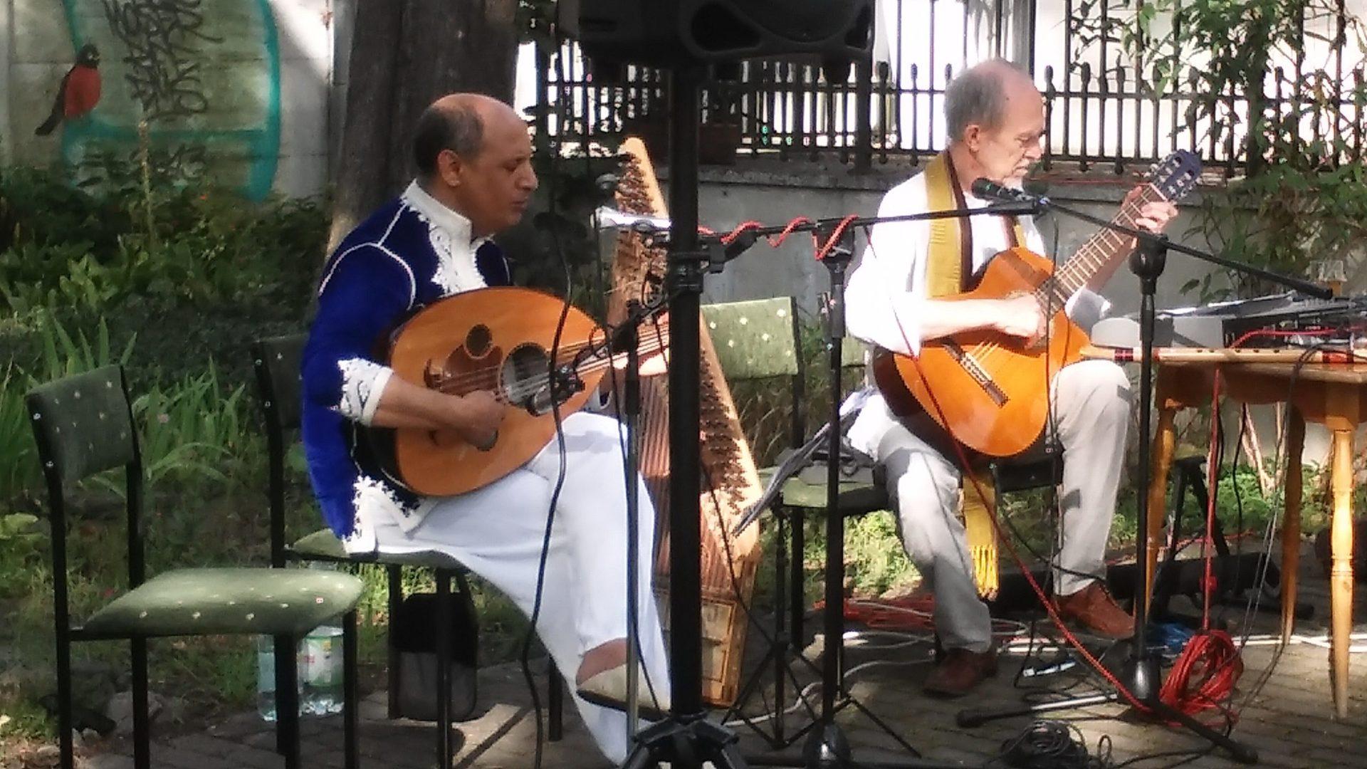 Spotkanie z muzyką orientalną – Duet Abdou Ouardi i Lucyan 1