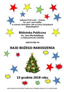 """Rajd """"Bożego Narodzenia"""" - 15 grudnia 2018 2"""