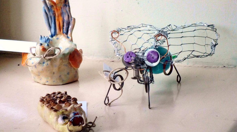 Wystawa młodych twórców z MDK-u 1
