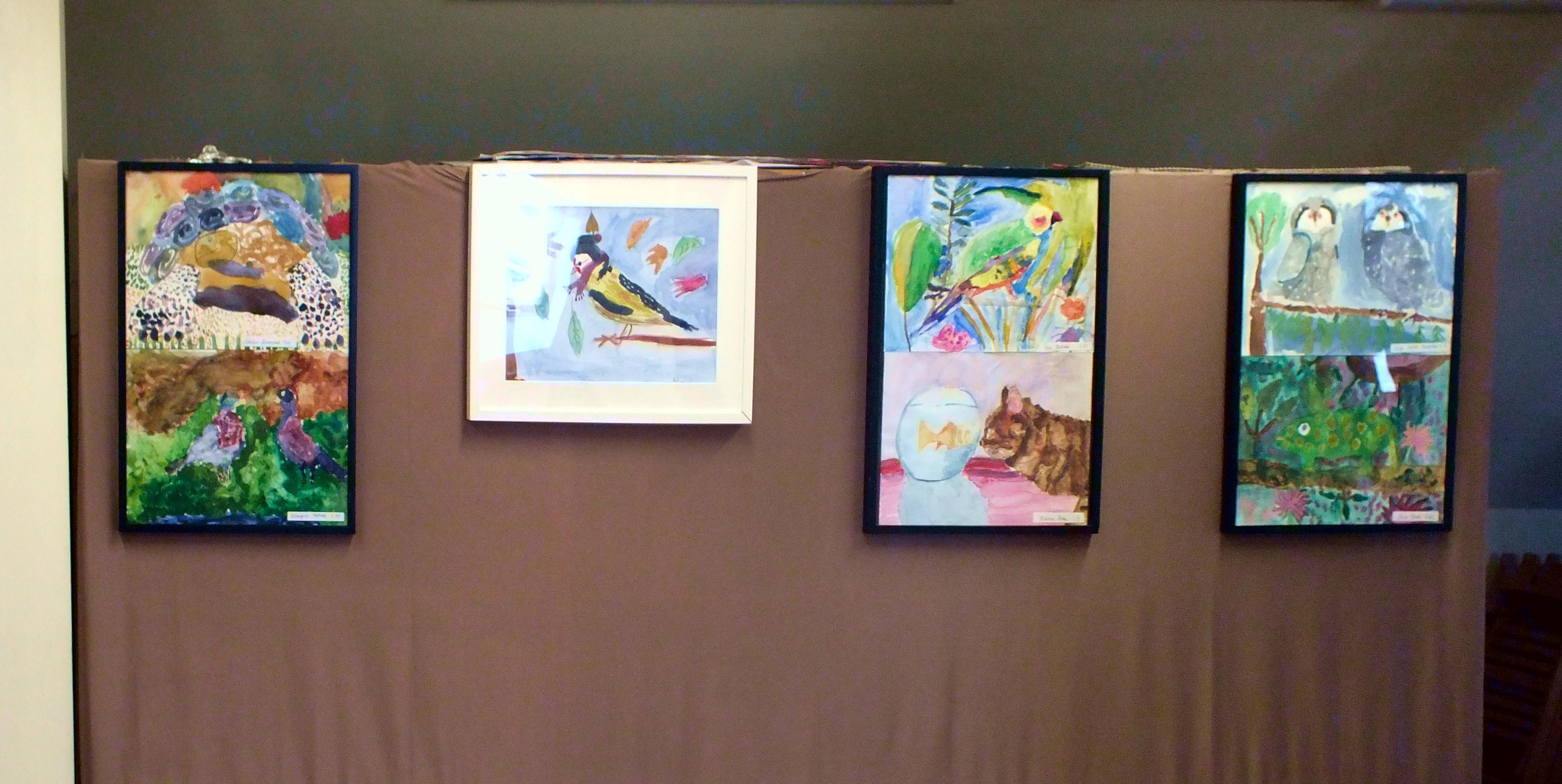 Wystawa młodych twórców z MDK-u 8