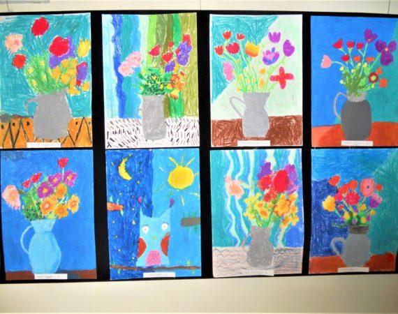 Wystawa prac dzieci z Młodzieżowego Domu Kultury 2