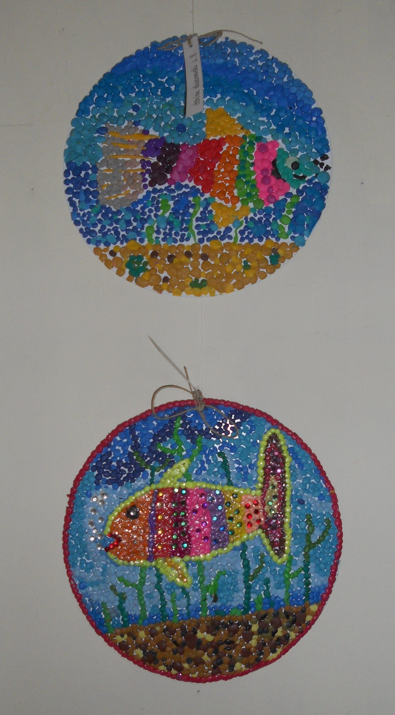 Wystawa prac dzieci z Młodzieżowego Domu Kultury 7