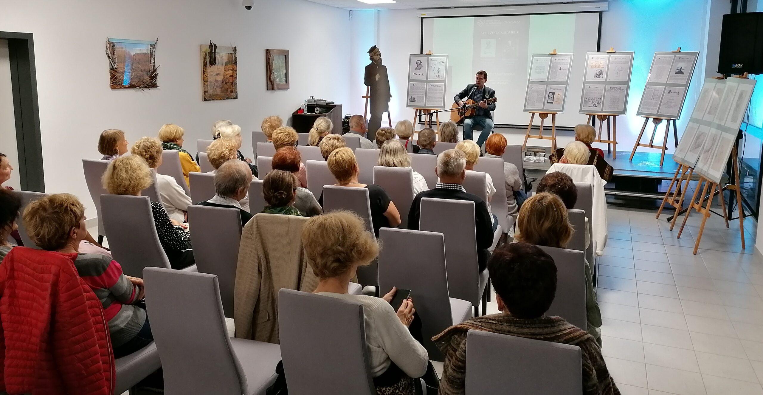 zdjęcie z koncertu Kuby Michalskiego
